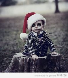 One of the Cutest little Jack Skellingtons ever <3