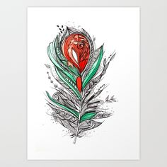Flower Lover Art Print by Himadri Pachori - $18.48