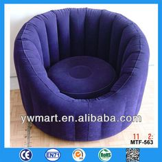 Flocked inflatable furniture, inflatable furniture sofa, flocking furniture inflatable sofa $1.0~$4.5
