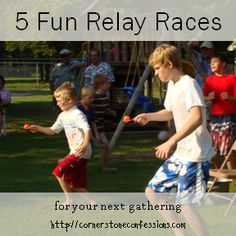 My students love relay races, especially boys against girls.