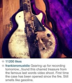 SEE MORE PROOF!!! Why would he be in his mcr stuff if he was recording with someone else or just on his own???