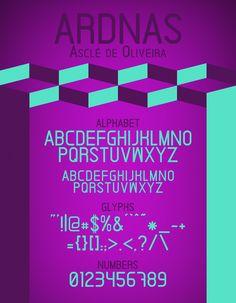 Ardnas Free Font, #Free, #Graphic #Design, #OTF, #Resource, #Sans_Serif, #Typeface, #Typography, #WOFF