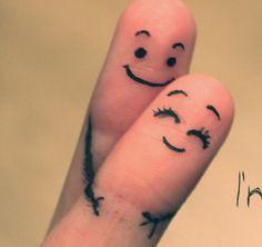 Together forever fingers! I love this! Finger Image, Finger Art, Smileys, Love Images, Love Pictures, Romantic Pictures, Creative Pictures, Funny Fingers, I Love You Animation