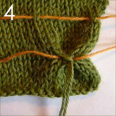 How to add smocking to Stockinette Stitch fabric:
