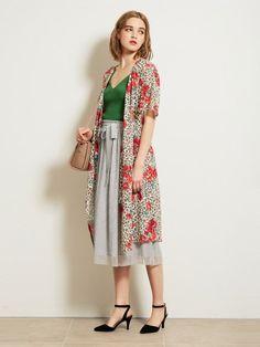 レオパードフラワーワンピース(膝丈ワンピース)|Lily Brown(リリーブラウン)|ファッション通販|ウサギオンライン公式通販サイト
