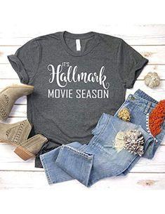 It s Hallmark Movie Season T shirt - Womens Unisex T shir... https  8eab81469c8a