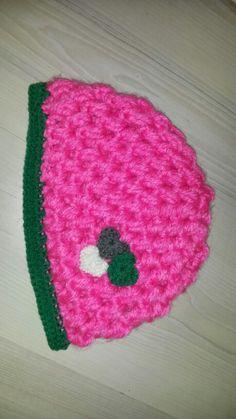 #watdoetvanessanu zelfgemaakt diy haken crochet muts neon hartjes