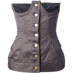 Jean Paul Gaultier Vintage Corset Top and other apparel, accessories and trends. Browse and shop 8 related looks.