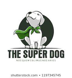 Vector Animals from GraphicRiver Dog Logo Design, Mascot Design, Cartoon Logo, Cat Logo, Husky Logo, Alaska Dog, Create An Animal, Dog Grooming Shop, Logos
