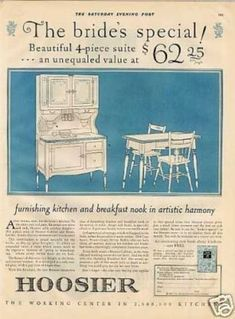 Hoosier Kitchen Cabinet (1926)