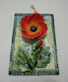 Ceramic flower by Artceramic on Etsy