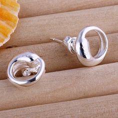 Iconic Silver Stud Earrings (www.accessoriessecret.com)