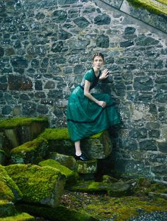 """Duchess Dior: """"Such Stuff As Dreams Are Made On"""" by Erik Madigan Heck for Harper's Bazaar UK October 2015"""