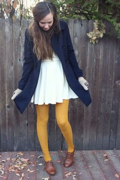 amarillas medias