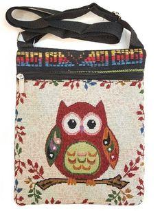 Harajuku Owl Messenger Bag,Jacquard weave  #Harajuku #ShoulderBag