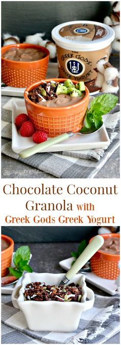 Chocolate coconut gr