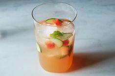 Louisa Shafia's Watermelon, Mint, and Cider Vinegar Tonic Recipe on Food52 recipe on Food52