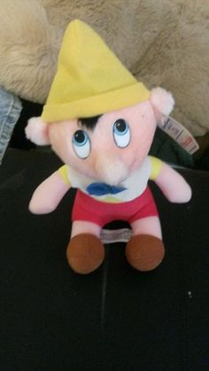 Pinocchio Disney Animated Film Classics 1985 Pinocchio Plush
