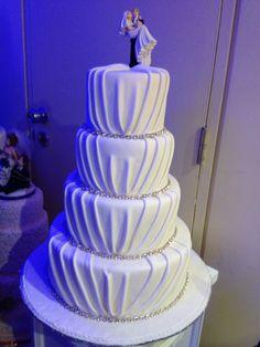 Bella torta de novios