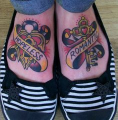 Hopeless romantic tattoo i want one really bad