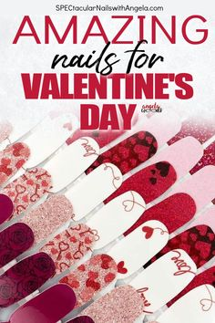 Paint your fingertips with the coolest Valentine's Day nail designs to instantly graduate your look from basic to brilliant. Color Street helps busy women feel put together and good about how they look by providing a quick, easy, budget friendly alternative to going to a nail salon. Color Streets salon quality nail coverings add instant glamour to your outfit. They can be easily applied at home in less than 15 minutes with no dry time. Try one of our Valentine's Day designs today…