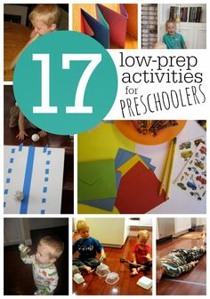 Toddler Approved!: 17 Low-Prep Activities for Preschoolers (On Up!)