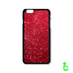 Glitter Sparkle Red iPhone Cases Case