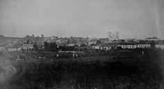 1873. Panorâmica de Curitiba. In: ROSA, Sá Barreto J. G. Curitiba. Curitiba: Habitat, 1954.