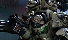 Space Hulk Deathwing : enfin du gameplay pour le shooter tactique des Space Marines ! Video Game News, Video Games, Space Hulk Deathwing, Dark Angels, Warhammer 40000, Art, Computers, Art Background, Videogames