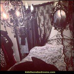 Gothic Lolita style bedroom decorating ideas