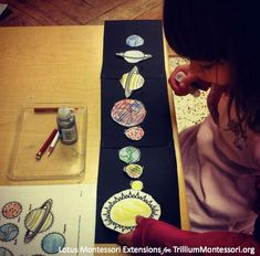 The Solar System —A simpler version of gluing the planets in order trilliummontessori.org