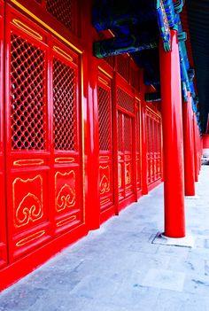New Paint - Forbidden City Beijing China