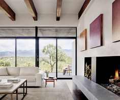 The Sundial House by Specht Architects in Santa Fe, New Mexico is a contemporary residence with stunning views. House Paint Interior, Interior And Exterior, Interior Decorating, Contemporary Home Decor, Unique Home Decor, Santa Fe, Architect House, Best Interior Design, Design Interiors