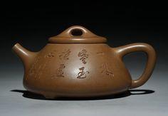 Duanni ShiPiao teapot  YiXing Pottery Handmade by Chinateaware, $200.00