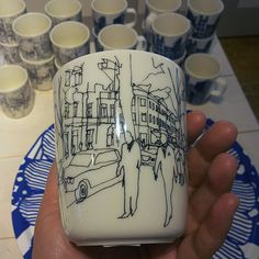 Marimekko Moments mug €17 Moments mug captures the vibrant cityscape drawn by Maija Louekari.