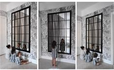 Ikea hacking is THE trend in customization. Impossible to miss, Ikea hacks are everywhere! Ikea Mirror Hack, Diy Mirror, Ikea Mirror Ideas, Mirror Bedroom, Wall Mirror, Ikea Interior, Interior Design, Home Hacks, Diy Wall