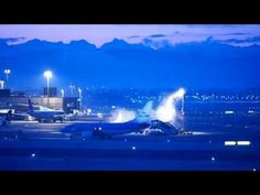 Airport Zurich by Night
