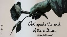 Art speaks the soul of it's culture quote. Culture Quotes, Art Quotes, Inspirational Quotes, Creative Art, Passion, Positivity, Writing, Artist, Creativity