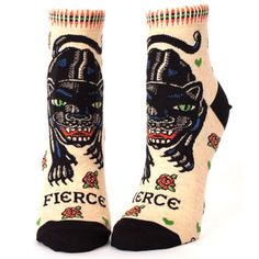 Bow to the fierce woman.  Real fierce - and killing it on the daily.  52% combed cotton, 46% nylon and 2% spandex.  These women's casual ankle socks fit  Women's shoe size 5-10.