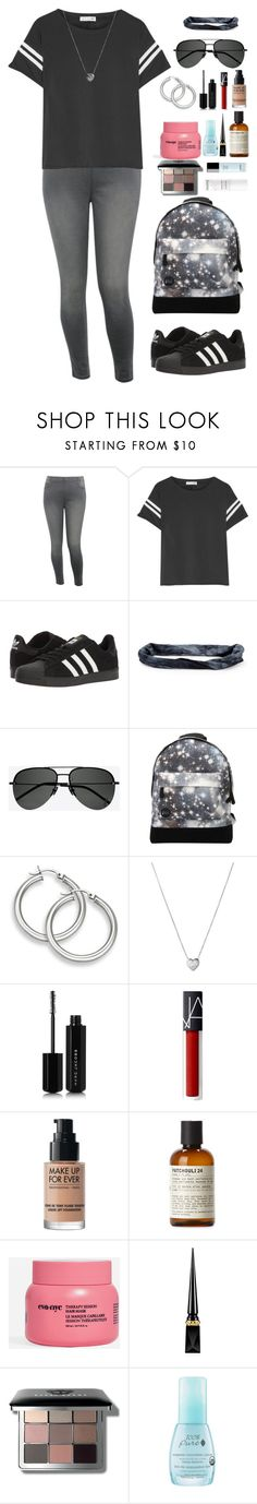 """""""Seeing stars."""" by krys-imvu ❤ liked on Polyvore featuring M&Co, rag & bone, adidas, Aéropostale, Yves Saint Laurent, Mi-Pac, Links of London, Marc Jacobs, MAKE UP FOR EVER and Le Labo"""
