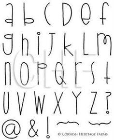 Image result for fonts alphabet
