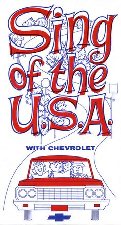 Sing of the USA: 1964.