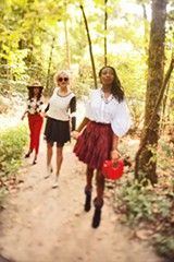 Fall Fashion meets the Old Forest #FallFashion