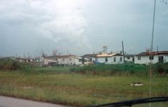 Some of the houses ravaged by Hurricane Andrew - Homestead, Florida