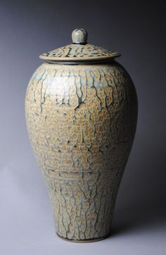analia511:  Covered Jar by John McCoy Pottery. www.JohnMcCoyPottery.com