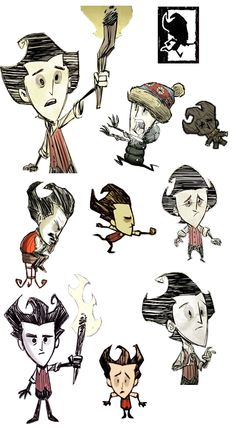 Don't Starve: Wilson Collection 5!
