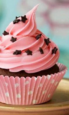 cupcake wallpaper 17 Velvet Cupcakes, Love Cupcakes, Birthday Cupcakes, Beautiful Cupcakes, Purple