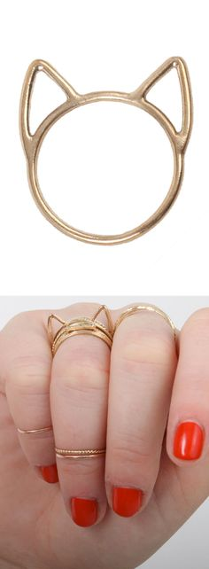 Cat stacking ring