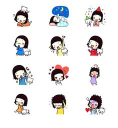 AshLeY _ Daily Stickers 2