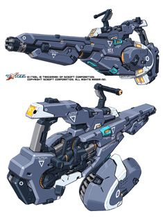 Ideas Sci Fi Concept Art Characters Design Reference Armors For 2019 Sci Fi Weapons, Weapon Concept Art, Fantasy Weapons, Weapons Guns, Game Design, Armes Futures, Mode Cyberpunk, Armas Ninja, Future Weapons